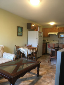 Furnished 2 bedrm on 48th/Prince Edward Available Now
