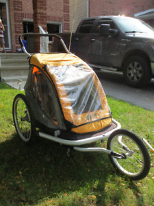 MEC Bicycle Children Carrier Trailer Sport Stroller 2 places