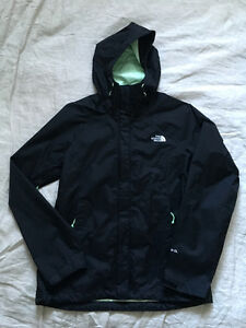 Brand New Women's North Face Black Venture Jacket - Size Small
