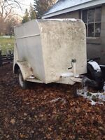 4x6 enclosed utility trailer