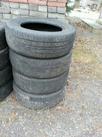 USED TIRES FOR SALE IN SETS OF FOUR