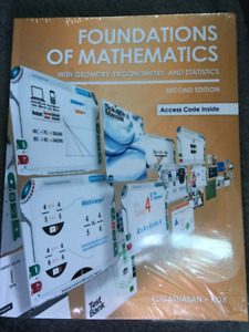 Foundations of Mathematics W/Geom, Trig, Stats - 2nd ed.