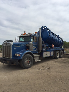 1995 T-800 Kenworth Vac Truck For Sale