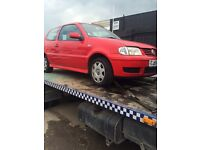 Vw polo 1.4 16v auto ( for parts )