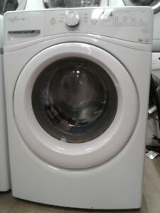 "27"" WHIRLPOOL DUET WHITE FRONT LOAD WASHER"