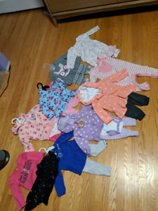 HUGE lot of 6 month girls clothing