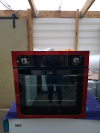 New World single electric oven built in 60cm