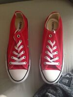 Brand new red converse