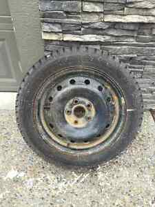 Hankook i Pike Winter Tires and Rims - 225 / 50 R16