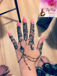 Bridal henna artist at your place #mehndi #party