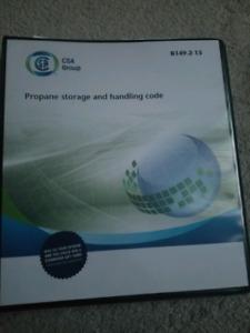 HVAC Codebook B149.2-15 Propane storage and handling code