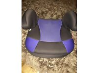 Blue booster seat free