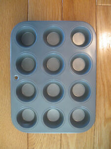 TWO HANDY MUFFIN TINS