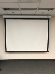 Da-Lite Model C Front Projection Screen - Two Available