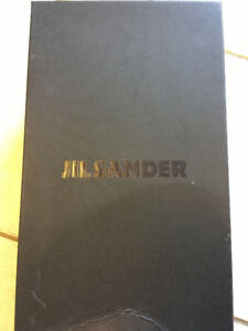 Jil Sander Men's Black and Navy Leather Clown Derbys
