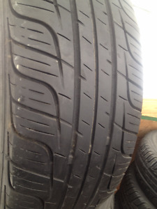 Set Of 2 Toyo Summer tires 195/60/15