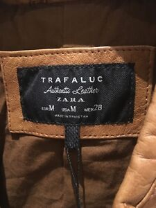 Zara leather jacket - Brand New with tags (veste cuir) West Island Greater Montréal image 4