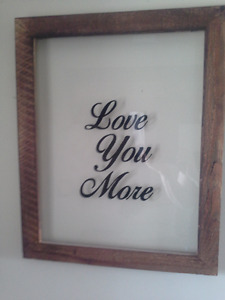 """Love You More"" picture"