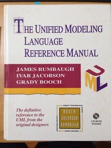 "Book ""the unified modeling language reference manual"""