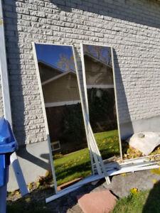 Portes coulissantes / sliding doors