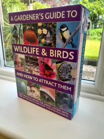 Gardener's Guide to Wildlife & Birds. Boxed 2 Volumes