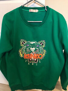 Kenzo Sweater - Green - Like New Edmonton Edmonton Area image 1