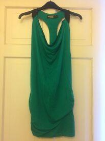 A beautiful green backless dress size small