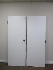 Metal Double Fire Door - Single Door Size 83 Inch x 29.5 Inch n