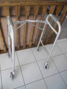 Walker with Wheels and Legs Attachments