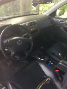 2002 Acura five-speed 1.7 L accident on fuel best offer over 900
