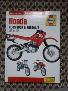 Honda xr650l Street and Trail Parts
