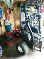 Toro o turn mower