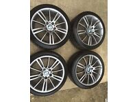 Bmw genuine m sport wheels