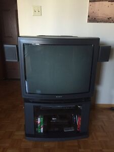 TV w/ stand