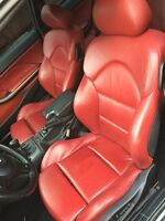 Bmw E46 E36 3-Series Factory Red interior complete (Mint)