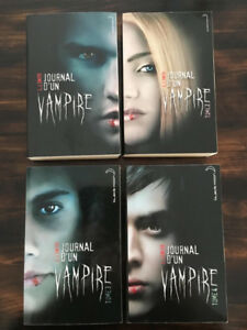 Journal d'un vampire, tome 1-2-3-4