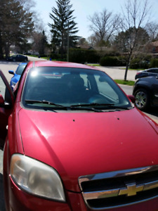 2007 chevy aveo LS Red 4DR