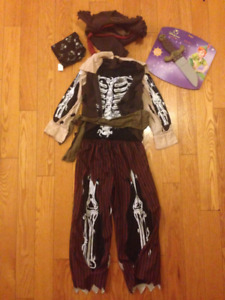Kids Pirate Costume - Size 5-6