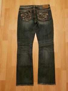 Silver Jean's size 28