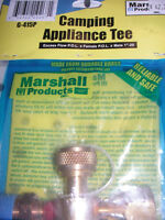 Marshall Gas Controls G-415P Extend-A-Flow Tee