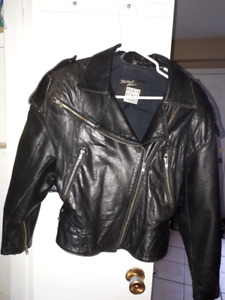 ONE  LEATHER  LADIES  BIKER  JACKET