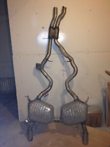 Bmw 2007 335 convertible exhaust system