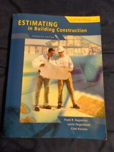 Estimating in Building Construction,  Frank R. Dagostino