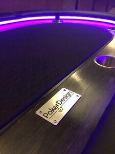 """Table de poker """"poker design"""" neuve faite à la main West Island Greater Montréal image 2"""