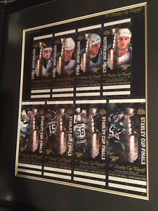For Sale - Uncirculated Ticket Sheet for the Dallas Stars
