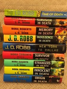 J.D. ROBB books for sale...