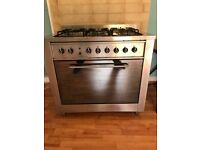 Gas oven and hob - Indesit KP 9507 XE/G