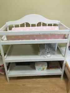 White changing table for sale Kingston Kingston Area image 1