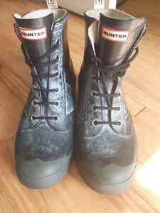 Hunter lace up boots. 50 OBO Peterborough Peterborough Area image 2