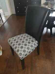 Set of 6 Parsons Dining Chairs